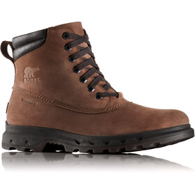 Sorel Portzman Lace Schoenen Heren, tobacco/black